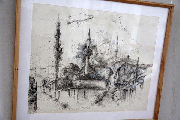 Вдова крымскотатарского художника Рамиза Нетовкина открыла в Симферополе выставку его работ (фото), фото-9