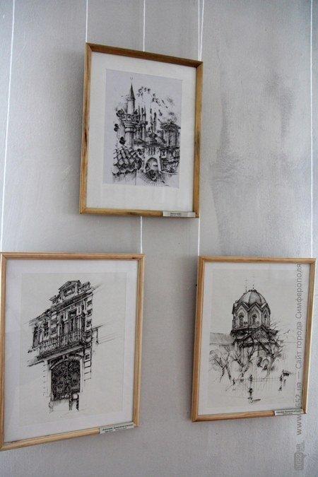 Вдова крымскотатарского художника Рамиза Нетовкина открыла в Симферополе выставку его работ (фото), фото-12