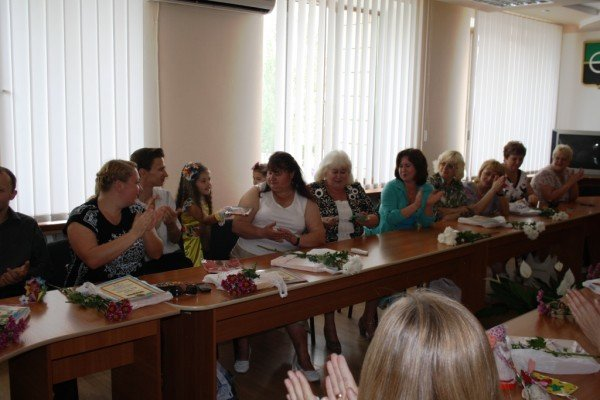 Областной совет отметил работников культуры Артемовска, фото-5