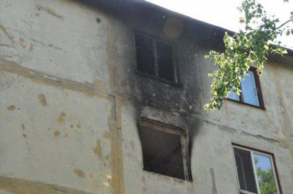 В Крыму пожар уничтожил квартиру: два человека пострадали (изменено, фото), фото-2