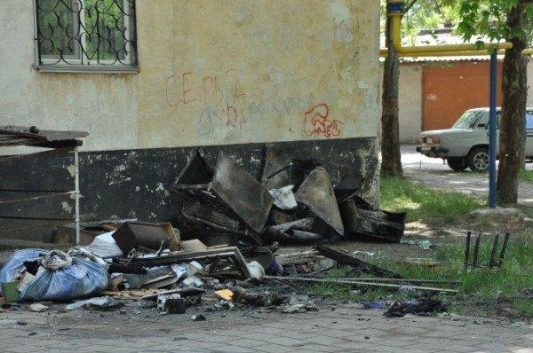 В Крыму пожар уничтожил квартиру: два человека пострадали (изменено, фото), фото-3