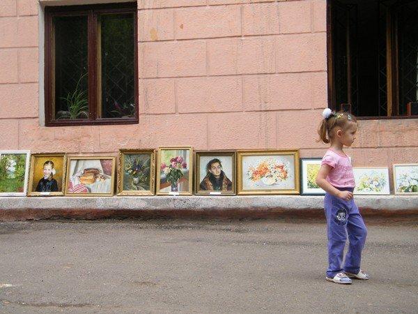 В Горловском художественном музее сегодня прошёл фестиваль «ART-ярмарка», фото-5