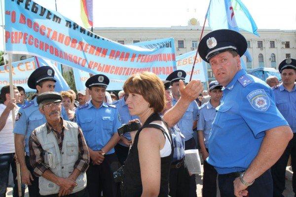 Оппозицию не подпустили к меджлисовцам в день траура (ФОТО), фото-3