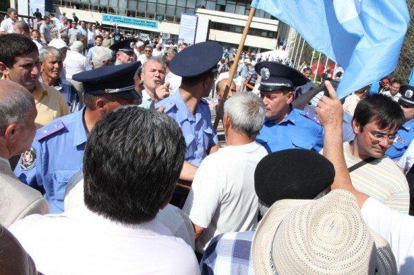 Оппозицию не подпустили к меджлисовцам в день траура (ФОТО), фото-5