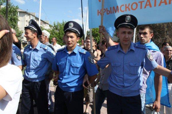 Оппозицию не подпустили к меджлисовцам в день траура (ФОТО), фото-6