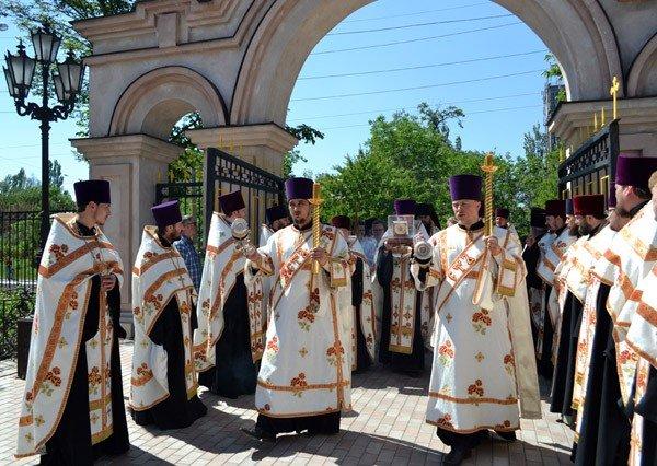 В Горловку прибыли мощи святых угодников Божиих, фото-1