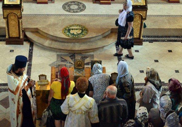 В Горловку прибыли мощи святых угодников Божиих, фото-4