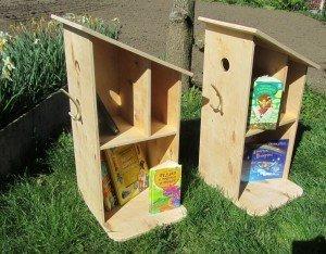 У Рівному з'явилися незвичні шпаківні з книжками (ФОТО), фото-1