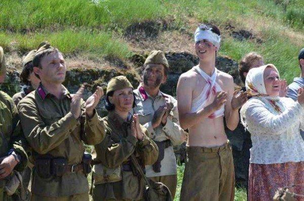 В Керчи москвичи и крымчане сражались с немцами, а товарищ Сухов открыл мемориал (фото), фото-8