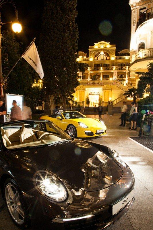 Презентація нових моделей Porsche у Ялті, фото-3