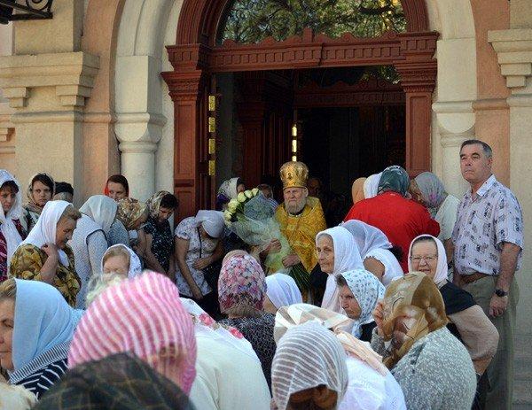 Вчера в кафедральном соборе Горловки отпраздновали престольный праздник, фото-1