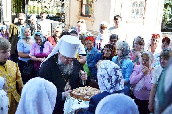 Вчера в кафедральном соборе Горловки отпраздновали престольный праздник, фото-2