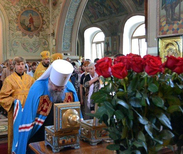 Вчера в кафедральном соборе Горловки отпраздновали престольный праздник, фото-3