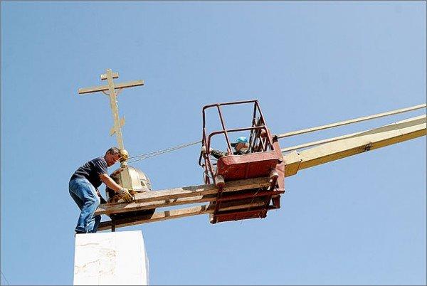 Под Феодосией установили Поклонный крест (фото), фото-1