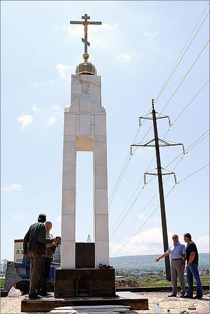 Под Феодосией установили Поклонный крест (фото), фото-2