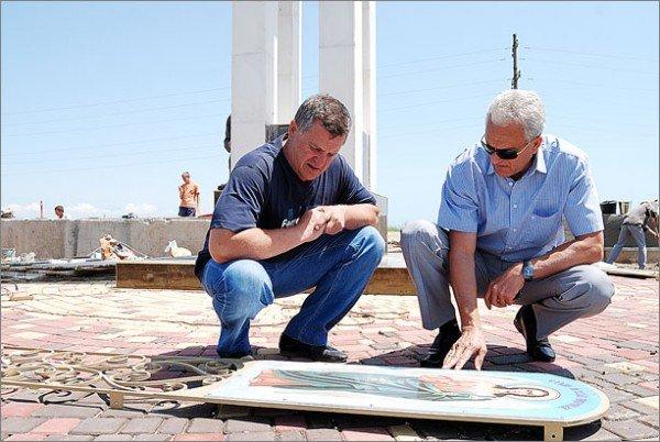 Под Феодосией установили Поклонный крест (фото), фото-3