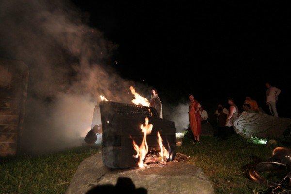На зйомках нового кіпу гурт ТІК спалив баян (Фото), фото-8