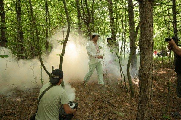 На зйомках нового кіпу гурт ТІК спалив баян (Фото), фото-11