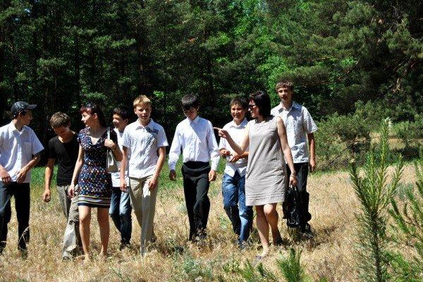 В донецком лесу проложили экологическую тропу (фото), фото-1