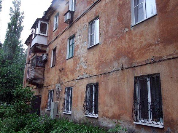 В центре Донецка обвалился балкон, на котором находились люди (фото), фото-5