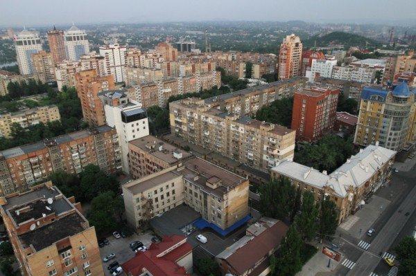 Закат в Донецке с высоты птичьего полета (фото), фото-2