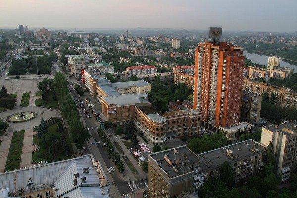 Закат в Донецке с высоты птичьего полета (фото), фото-3