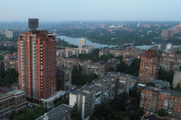 Закат в Донецке с высоты птичьего полета (фото), фото-6