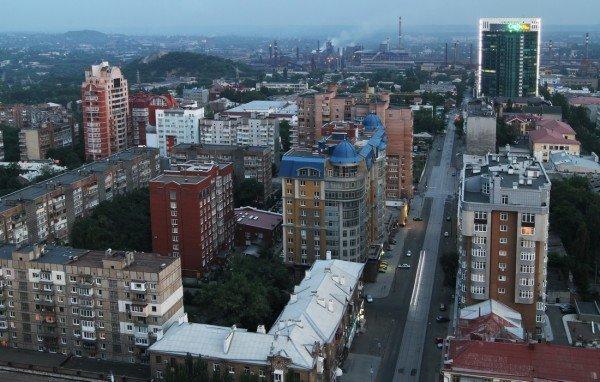 Закат в Донецке с высоты птичьего полета (фото), фото-7