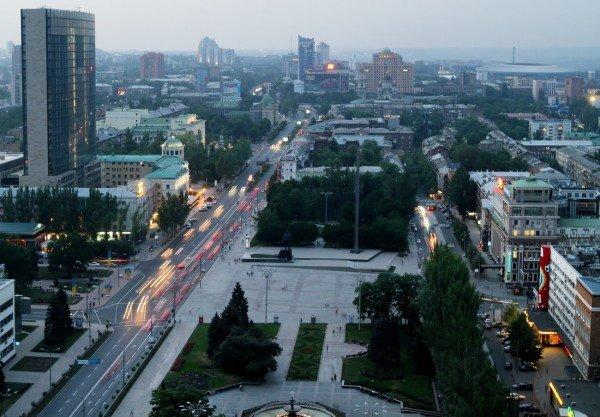 Закат в Донецке с высоты птичьего полета (фото), фото-8