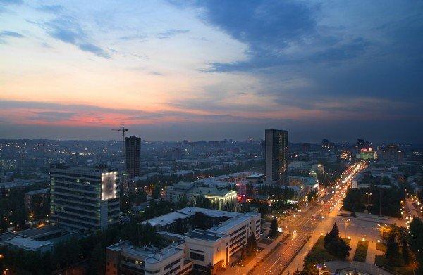Закат в Донецке с высоты птичьего полета (фото), фото-9