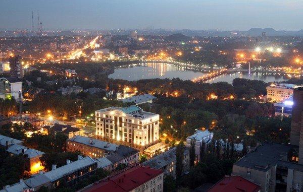 Закат в Донецке с высоты птичьего полета (фото), фото-10