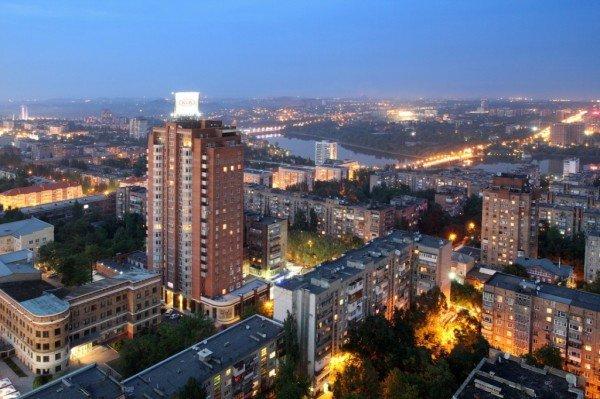 Закат в Донецке с высоты птичьего полета (фото), фото-11