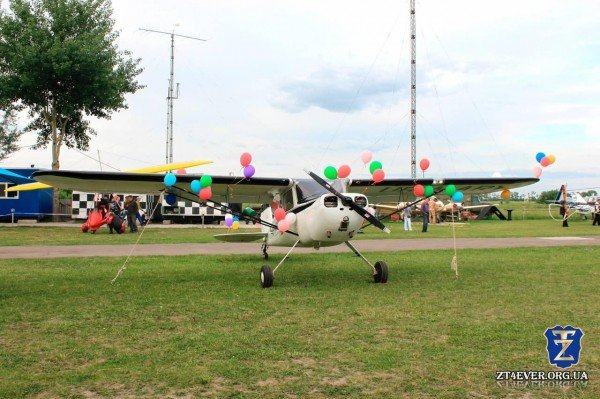 На выходных житомиряне полетали на уникальных самолетах (ФОТО), фото-1