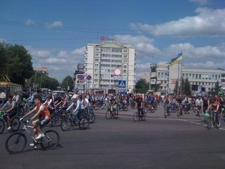 У Рівному відбувся велодень (ФОТО, ВІДЕО), фото-1