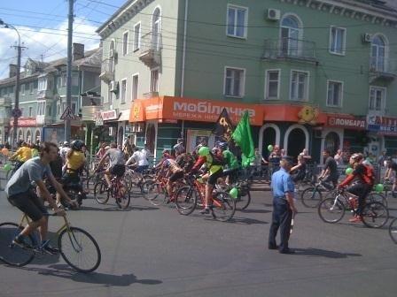 У Рівному відбувся велодень (ФОТО, ВІДЕО), фото-2