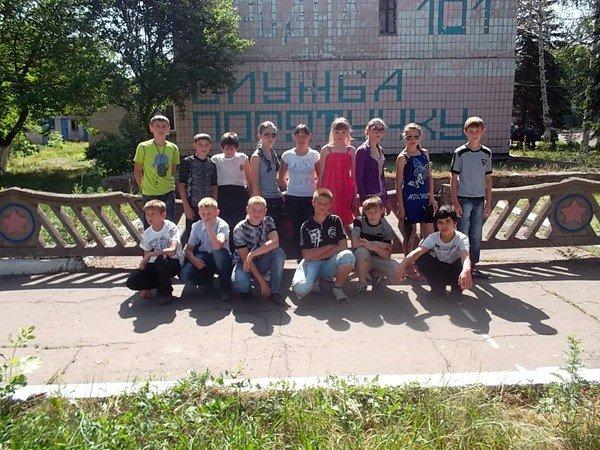 Ученики горловской школы №15 на один день превратились в пожарных, фото-1