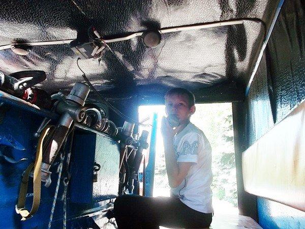 Ученики горловской школы №15 на один день превратились в пожарных, фото-3