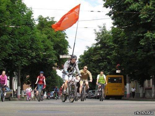 Более 400 житомирян приняли участие во всеукраинской акции «Велодень» (ФОТО), фото-11