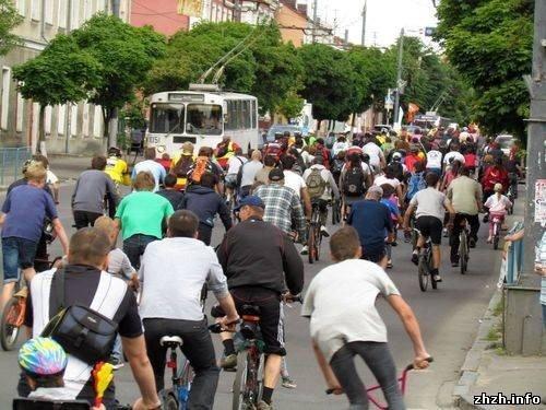 Более 400 житомирян приняли участие во всеукраинской акции «Велодень» (ФОТО), фото-7