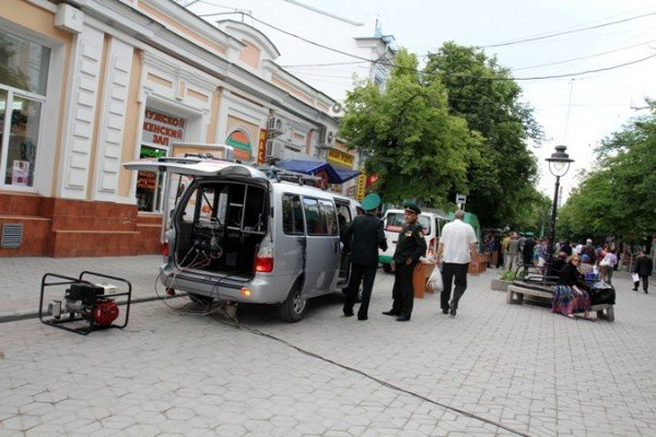 Пограничники показали в Симферополе свою технику (ФОТО), фото-1