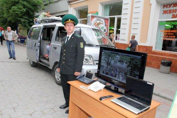 Пограничники показали в Симферополе свою технику (ФОТО), фото-7