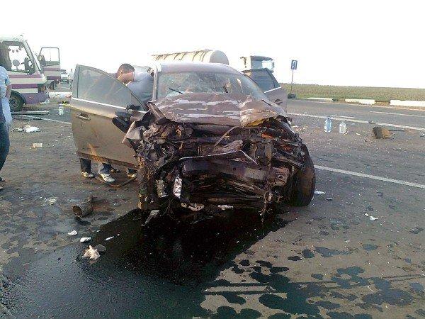 Под Донецком автобус столкнулся с «Вольво» - 3 человека погибли и 12 пострадали (фото), фото-6