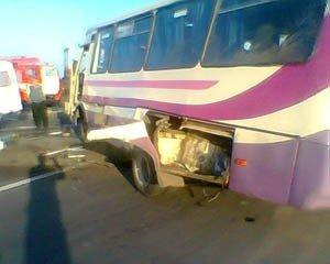 Под Донецком автобус столкнулся с «Вольво» - 3 человека погибли и 12 пострадали (фото), фото-2