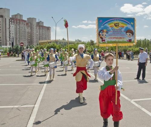 На День города в Кривом Роге прошел фестиваль духовых оркестров, фото-1