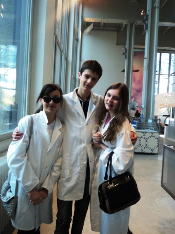 Артемовская школьница в Мюнхене научилась выделять нити ДНК, фото-1