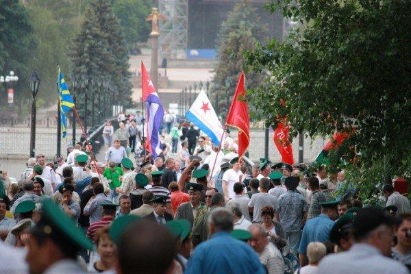 Как в Донецке отметили День пограничника (фото), фото-1
