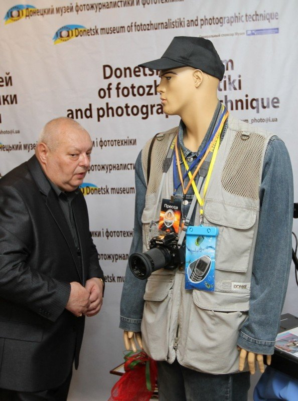 В Донецке открылся единственный в Украине музей фотожурналистики и фототехники (фото), фото-10