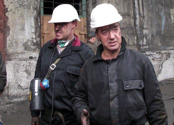 Шкиря повторил подвиг Сахарчука и Клепа – опустился в шахту, фото-2