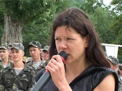 В Крыму Руслана учила военных петь и танцевать (фото), фото-2