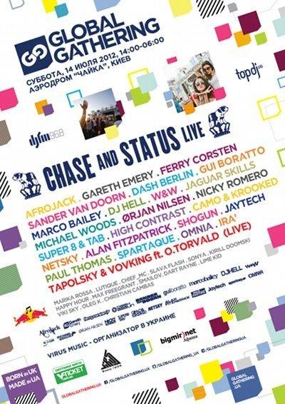 Оглашен состав артистов фестиваля Global Gathering, который состоится 14 июля в Киеве, фото-1